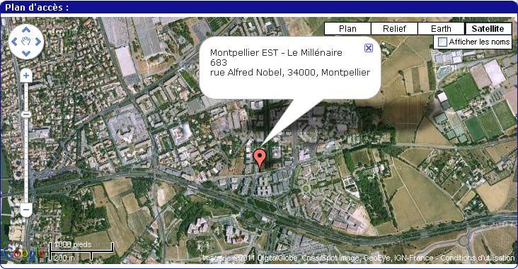 Cartographie google
